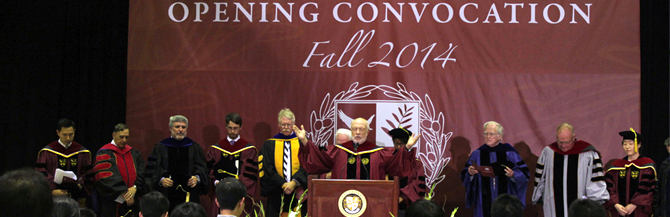 Olivet University Ushers in New Academic Year at Fall 2014 Convocation