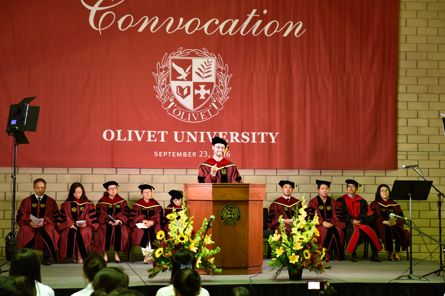 Olivet University Holds Fall Convocation Services