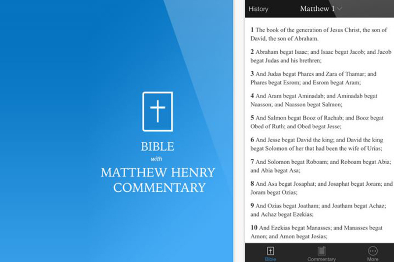 OIT Students Launch Bible Commentary App
