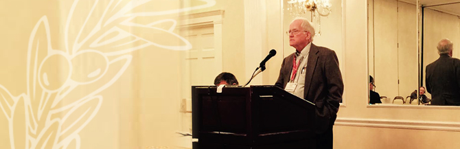 Zinzendorf Dean Delivers Presentation at ETS Annual Meeting